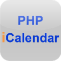 phpicalendar is an open source php application to parse and display shared icalendar-compatible calendars on a website. phpicalendar is released under the GNU/GPL terms.