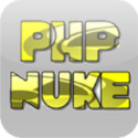 PHP-Nuke is a web-based automated news publishing and content management system based on PHP and MySQL. The system is fully controlled using a web-based user interface. PHP-Nuke was originally a fork of the Thatware news portal system.