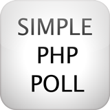 Simple PHP Poll will be as its title suggests: simple. With simplicity in mind, we try to add as many features as possible to our system while still making it extremely simple to use and update, let alone modify. It is the only free poll system to use an installer and simple admin panel, and the only to be free of any watermarks