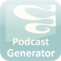 Podcast Generator is a free web based podcast publishing script written in PHP: upload media files (audio-video) via a web form along with episode information and automatically create podcast w3c-compliant feed including iTunes specific tags. It also features a comprehensive web administration.