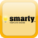 Smarty is a template engine for PHP, facilitating the separation of presentation (HTML/CSS) from application logic. This implies that PHP code is application logic, and is separated from the presentation.