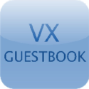 VX Guestbook – Allows you to add free guestbook to your site. Easy to install and use. Editable with template.